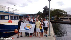 Veja com foi: Mergulho no Rio com a Akantus – 21-08-17
