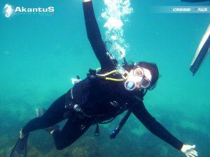 Novos Mergulhadores em Angra