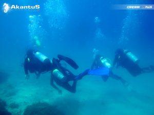 Novos Mergulhadores – Lagoa Azul