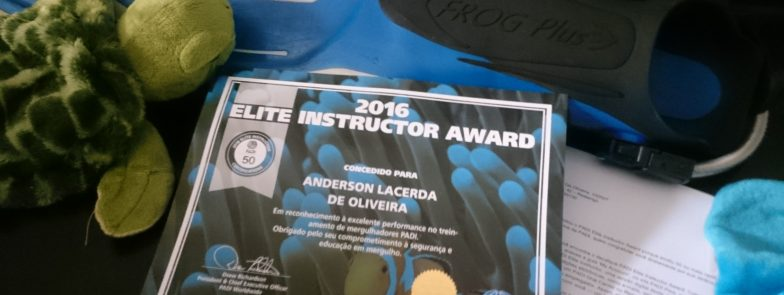 Prêmio PADI Elite Instructor